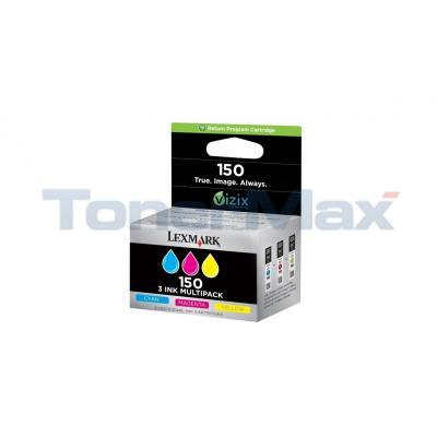 LEXMARK NO 150 RP INK CART CMY TRI-PACK
